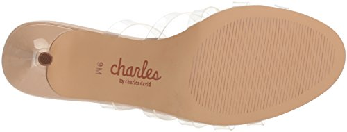 Charles By Charles David Womens Benny Sandalo Con Tacco Chiaro