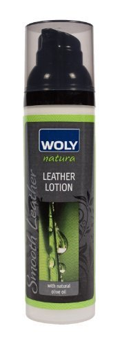 Woly Nautra Leather Lotion and Conditioner. Protects Leather Against Cracking. For Designer Shoes, Handbags and Clothes. Made with All Natural Ingredients.