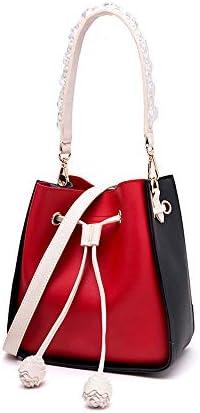 韓国のファッション人格ワイルドショルダーバッグメッセンジャーバッグ大容量バケットバッグ (Color : A)