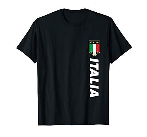 Italia Jersey T-shirt - Proud Italian - Italia T-Shirt - Italian Soccer Jersey Style