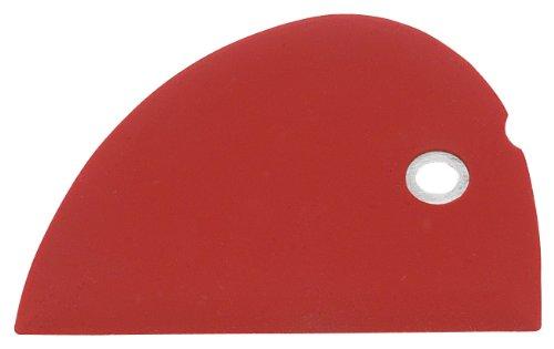 Messermeister Silicone Bowl Scraper, Red