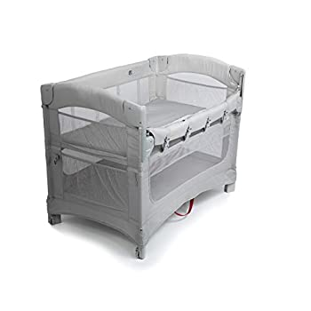 Image of Arm's Reach Concepts Ideal 3 in 1 Co-Sleeper Bassinet - Grey Baby