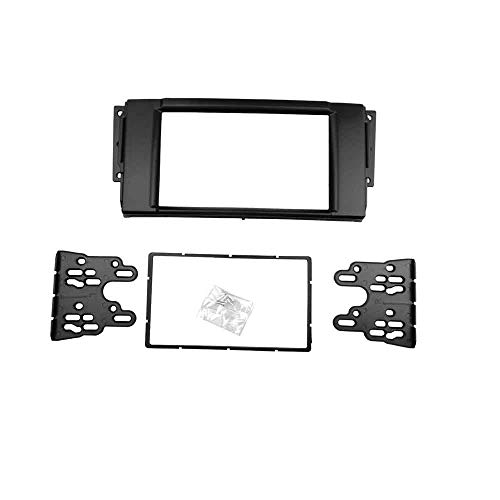 Double Din Fascia for Land Rover Range Stereo Panel Dash Mount DVD Trim Kit Installation Refitting Adaptor ()