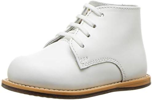 Josmo Baby Walker White Leather Dress 2