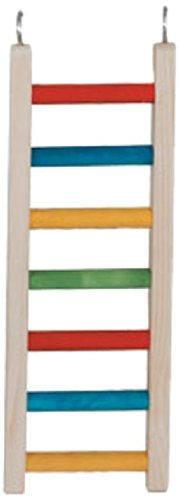 Paradise Toys 18-Inch Wood Parrot Ladder by Paradise Toys