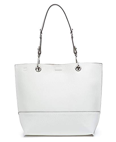 923b11ed2 Calvin Klein Sonoma Reversible Novelty North/South Tote, White by Calvin  Klein (Image