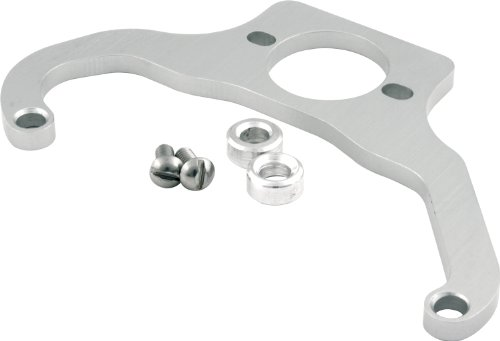 Allstar ALL54286 Silver Anodized Billet Aluminum Fuel Regulator Mounting Bracket for 4500 Style Series Carburetor and Holley Regulator