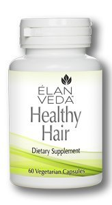 Healthy Hair Growth Vitamin by ELANVEDA | All Natural, Vegan Supplement For Hair Loss and Thin/Thinning Hair | 60 Capsules