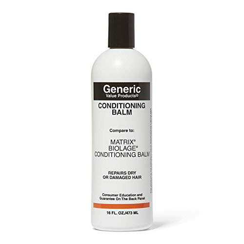 Generic Value Products Conditioning Balm Compare to Matrix Biolage Conditioning Balm from Generic Value Products