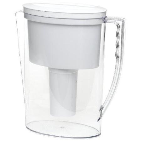 - Brita Ob11/42629 42629 Slim Water Filter Pitcher, Clear/white (ob11-42629)