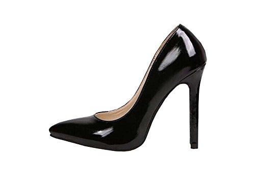 2014 neue spitze Schuhe mit hohen Absätzen Pumps Schwarz