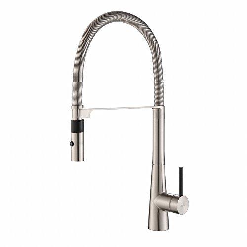 kraus modern crespo flex style kitchen faucet