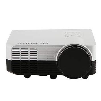 LED2018 Inicio Proyector HD Mini Mini Proyector Viene con TV ...