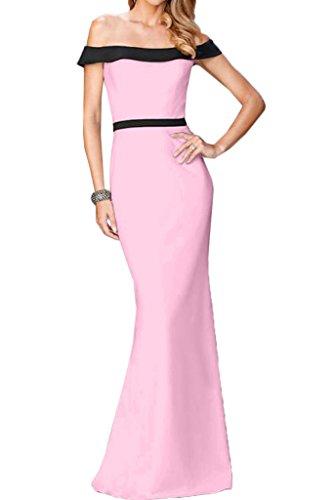 Etui Festkleid Ausschnitt Partykleid U Linie Rosa Abendkleid Damen Promkleid Lang Ivydressing Liebling ztwqIx4