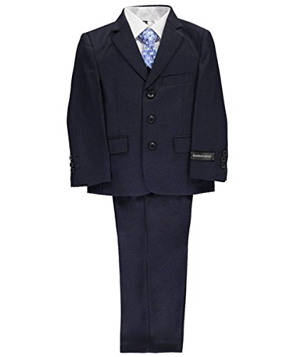 Kids World Of USA Little Boys' 5pc Suit (4, (Suits For Kids Online)