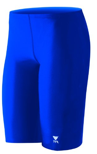 TYR Sport Boys' Solid Jammer Swim - Royal Blue Jammers