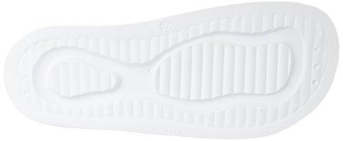 Uomo Sandalo In Acciaio Armani Bianco Sandalo Piatto