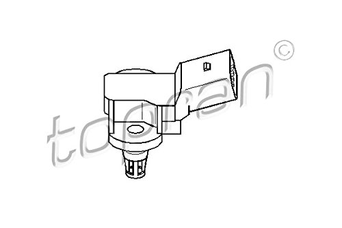 Intake Manifold Pressure Sensor MAP Fits AUDI A6 SEAT SKODA VW 1.0-4.2L 1998- by TOPRAN