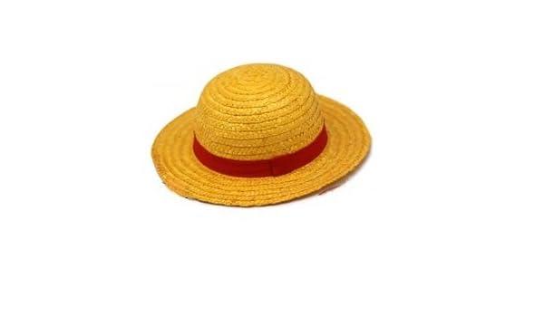 Sealche  sombrero de paja (Pieza viento Luffy para el traje de cosplay)   Juego de Bloc de notas originales   Amazon.es  Juguetes y juegos bc5822894c0