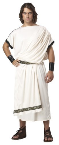Deluxe Classic Toga (male) Costumes (Mens Deluxe Classic Toga Mens Costume From Express Fancy Dress by Express Fancy Dress)