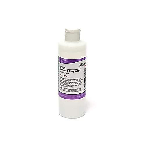 Pro Advantage PA-P775108 No Rinse Shampoo & Body Wash, 8 oz, Flip Top Cap (Pack of 24) by ProAdvantage