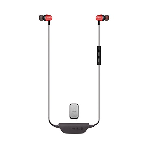 Moshi Mythro Air Bluetooth In-Ear Earbuds - Red