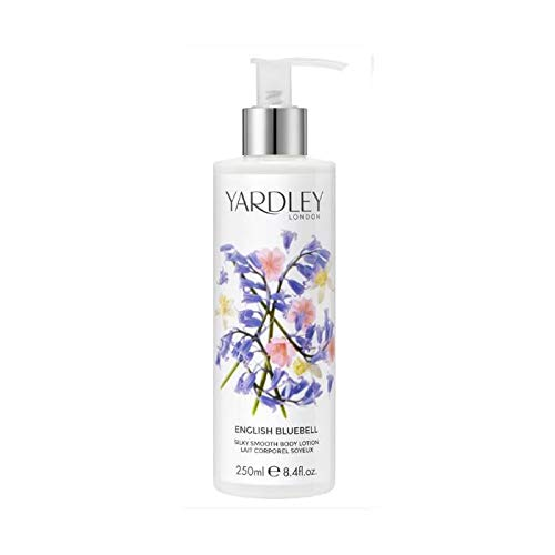 Yardley English Bluebell Silky Smooth Body Lotion - Delicately Body Floral Lotion