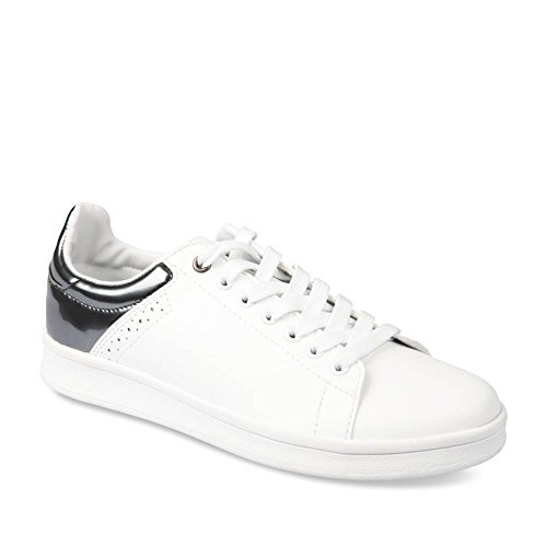 exclusive shoes new products watch Unyk Chaussea Basket blanche Femme en cuir synthétique ...