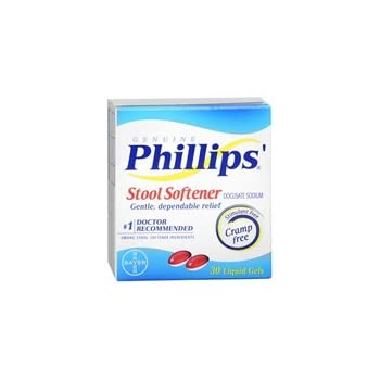 Amazon Com Phillips Stool Softener Liqui Gels 30 Count