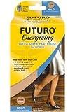 Futuro Energizing 8-15 mmHg Ultra Sheer Pantyhose For Women, Black, Large - 1 Ea