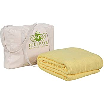 Amazon.com: DREAM CASTLE PREMIUM 100% COTTON TEXTURE BLANKET ...