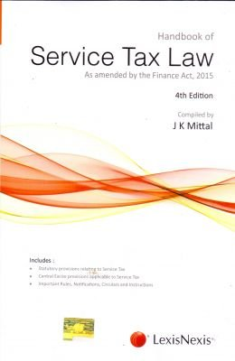 Download Handbook of Service Tax Law - As amended by the Finance Act, 2015 4/e (PB) pdf