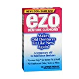 Ezo Denture Cushions Lower Heavy, 15 count (Pack of 3)