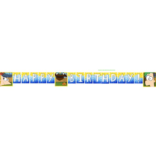 Phineas Ferb Party Birthday Banner product image