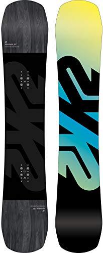 K2 Black-Yellow-Blue 2018 Afterblack - 159Cm Wide Snowboard (Default, Black)