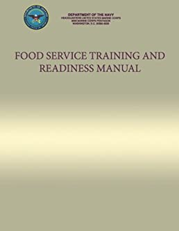 food service training and readiness manual department of the navy rh amazon com Food Service Practice Test Food Service Operations Manual