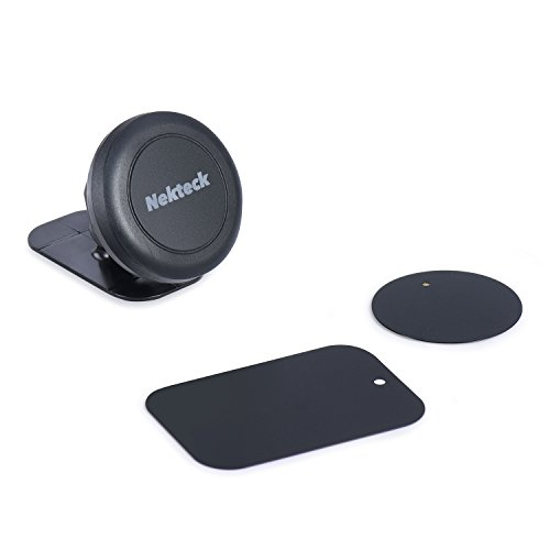 Car-Mount-Nekteck-Universal-Stick-on-Dashboard-Magnetic-Car-Mount-Holder-for-iPhone-7-6-6S-Plus-5S-5C-5-SE-Samsung-Galaxy-S6S7-Edge-Plus-S5-Note-5-4-3-LG-G5-Nexus-6P-5X-More-Black