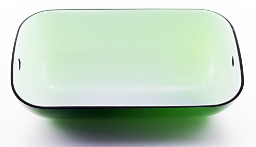 RUDY Replacement Green Glass Shade Cover for Banker Lamp - 8 2/3'' Width (22cm) SL100 by Rudy (Image #2)
