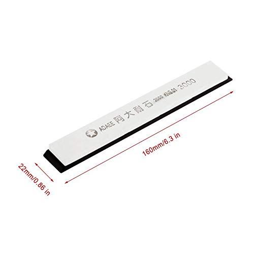 blanco y negro Promoci/ón Sale1pcs Piedras de afilar Afilador de cuchillos de cocina profesional Abrazadera Fuerte resistencia a la abrasi/ón