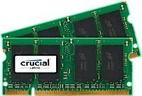 2GB kit (1GBx2) Upgrade for a Dell Inspiron E1505 System (DDR2 PC2-5300, NON-ECC, ) (Memory Upgrade E1505)