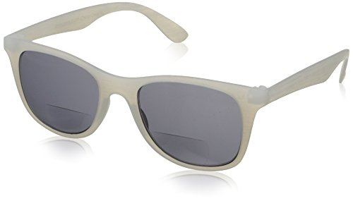 Peepers Cedar Grove Bifocal Square Sunglasses, Frost, 48 mm - Grove Sunglasses The