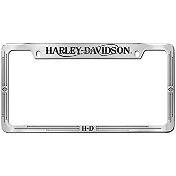 Amazon Com Harley Davidson Top Engraved License Plate