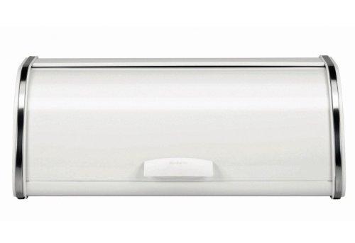 Brabantia Roll-Brotkasten weiß 45 x 26 cm