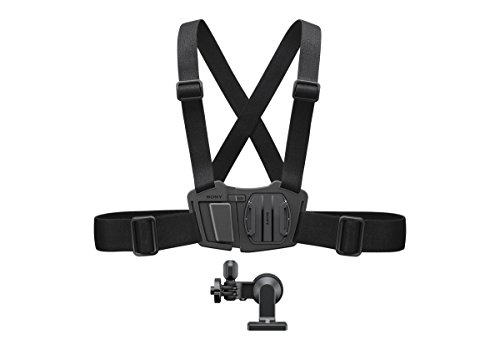 (Sony AKACMH1.SYH Chest Mount Harness for The Sony Action Camera - Black )