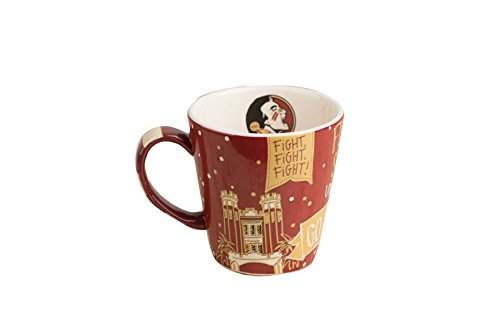 Glory Haus Florida State Collegiate Mug 12oz, Multicolor ()