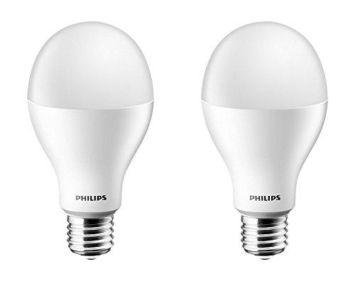 Philips Stellar Bright Base E27 20-Watt LED Bulb (Pack of 2, Cool Day Light)