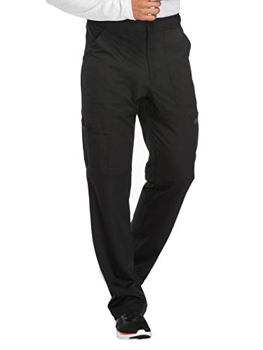 - Dickies Dynamix Men's DK110 Natural Rise Zip Fly Cargo Pant- Black- Medium