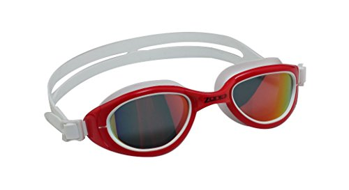 Zone3 Attack Goggles with Polarized Revo Lens (Red/White)