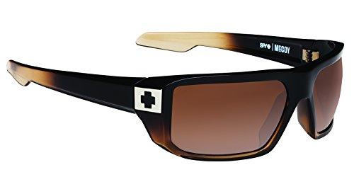 Spy Optic Men's Mccoy 673012130865 Rectangular Sunglasses, Bronze Fade Happy Bronze, 63 - Male Spy