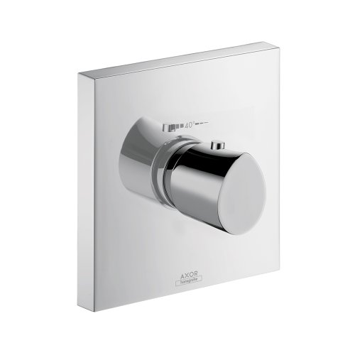 AXOR Axor 12711001 Starck Organic Thermostatic Trim Chrome AXOR